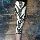 Black & White bat capri leggings, unleash your inner vampire, this pair has fangs! Absolutely gorgeous!  Squat proof, gym, high waisted, high quality, funky leggings, fitness and yoga, running and pole fitness, exercise.  Unwonted apparel alternative leggings, quirky leggings.